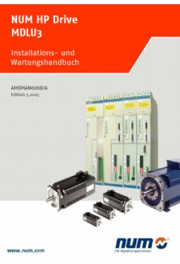 Installations- und Wartungshandbuch NUM HP Drive MDLU3