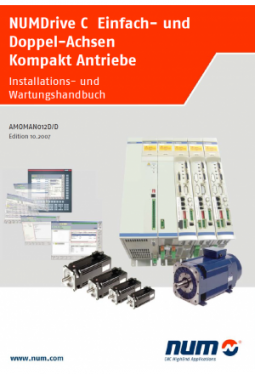 Installation and maintenance manual NUMDrive C Mono-Axis and Bi-Axes Compact drives