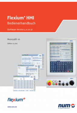Flexium + HMI: Bedienungsanleitung für Software-Version 4.0.20.00