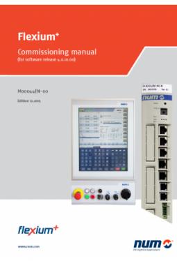 Flexium+: Inbetriebnahmehandbuch für Software-Version 4.0.10.00
