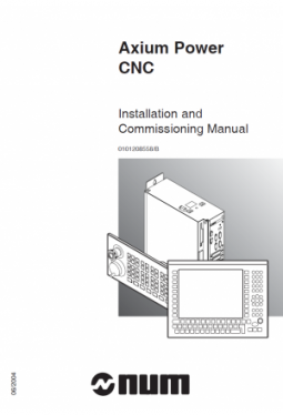 Axium Power - Installation and Commissioning manual