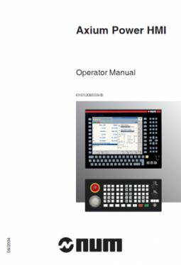 Axium Power HMI - Bedienerhandbuch