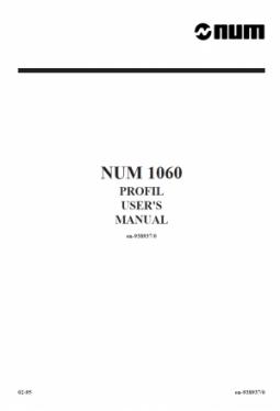 Funktion PROFIL - Anwenderhandbuch