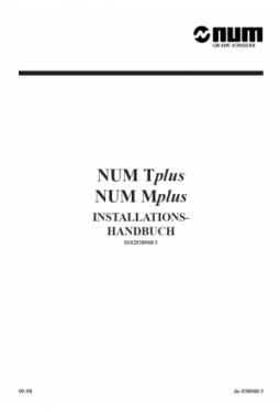 Tplus & Mplus - Installations- und Inbetriebnahmehandb