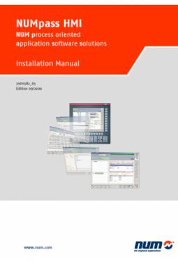 NUMpass HMI - Installationshandbuch