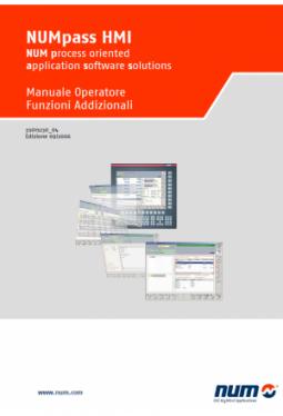 NUMpass HMI - Bedienerhandbuch Zusatzfunktionen Version Italienisch