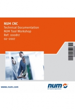 NUM10XX/Power/Axium - NUM Tool Workshop Handbücher