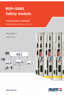 NUM-SAMX Safety module: Instruction manual