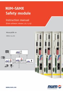 NUM-SAMX Sicherheitsmodul: Betriebsanleitung