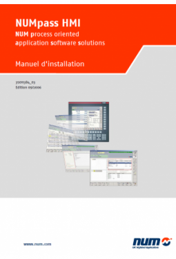 NUMpass HMI - Installation Manual French