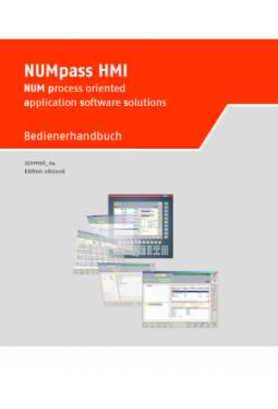 NUMpass HMI - Bedienerhandbuch