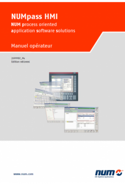 NUMpass HMI - Operator Manual