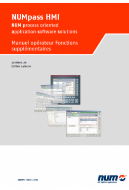 NUMpass HMI - Operator Manual Additional Functions Italian Version